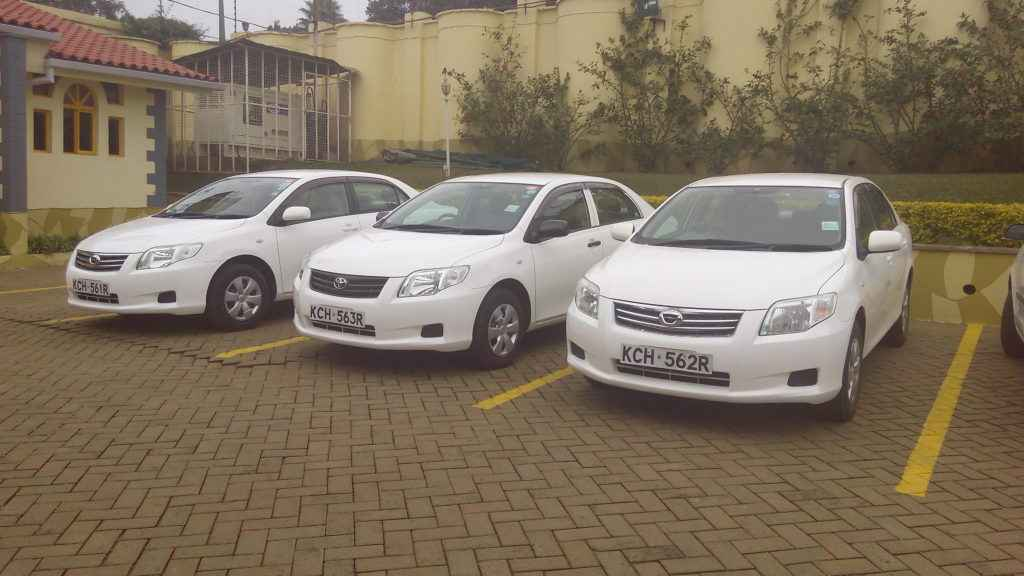 Toyota Fielder for hire Kenya