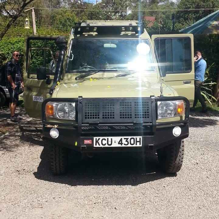 Toyota Land cruiser hire Kenya