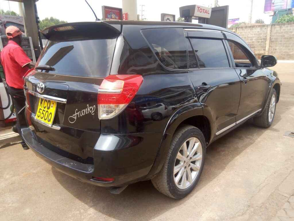 Toyota Rav 4 For Hire Nairobi
