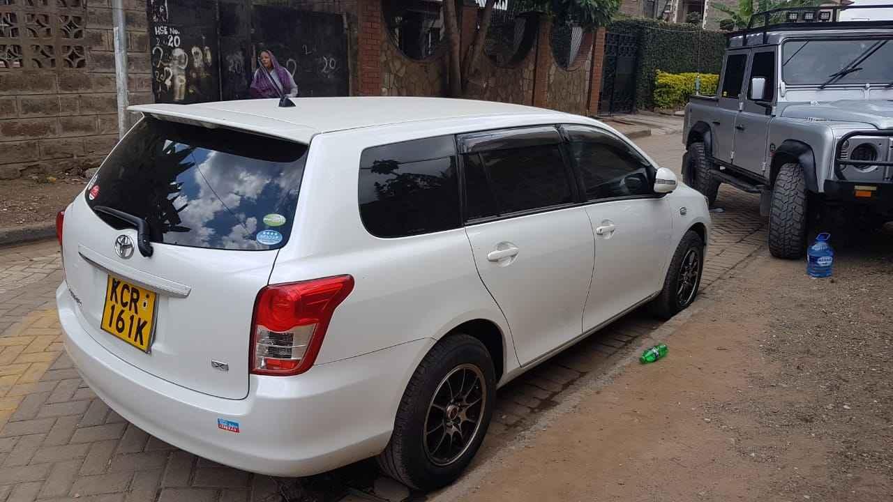 Toyota Fielder For Hire Nairobi