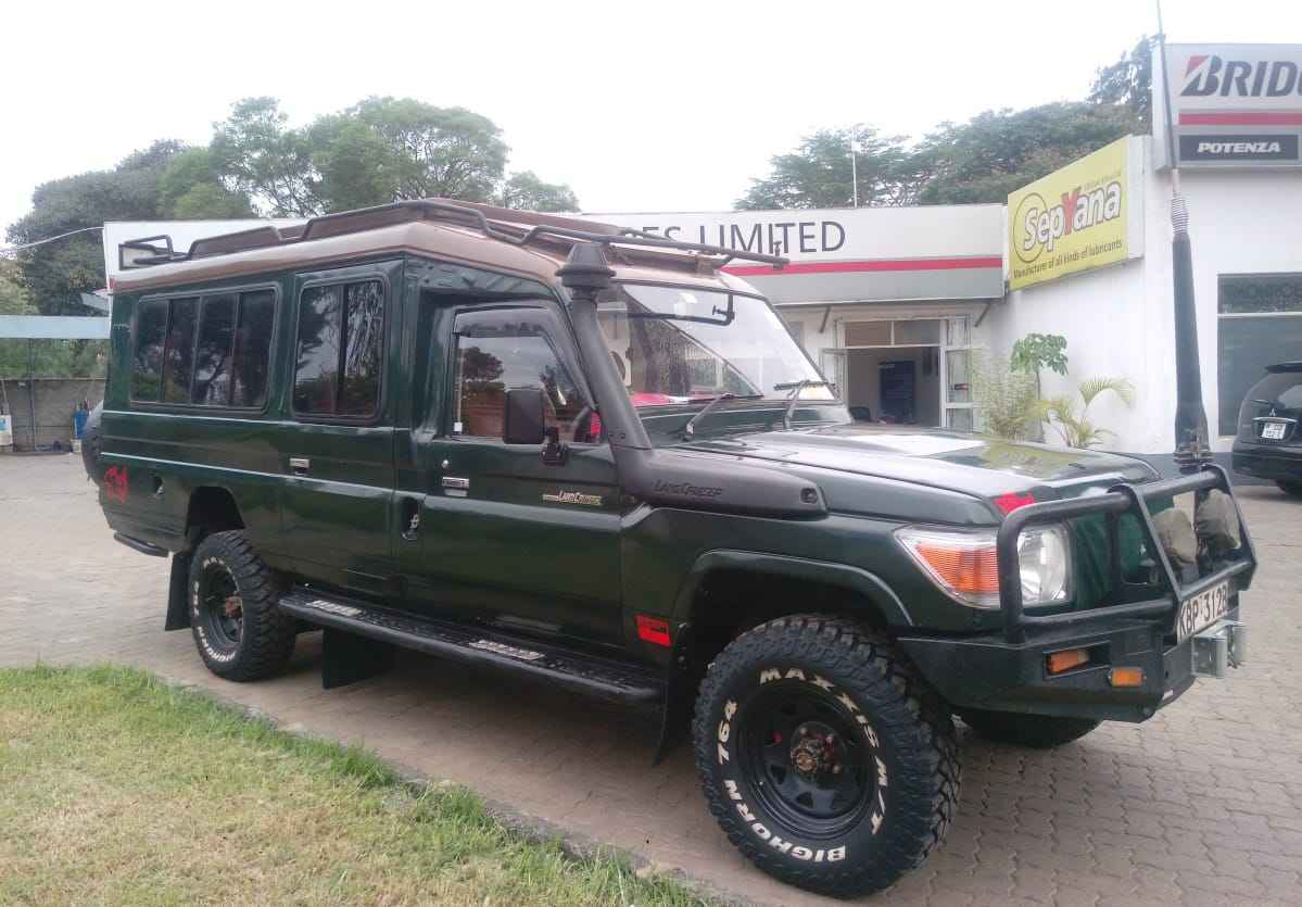 Private safari car hire Kenya