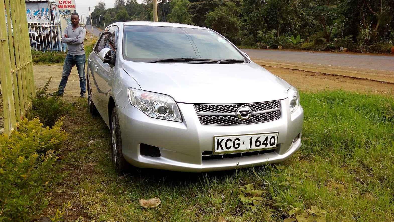 Toyota fielder for hire Kenya