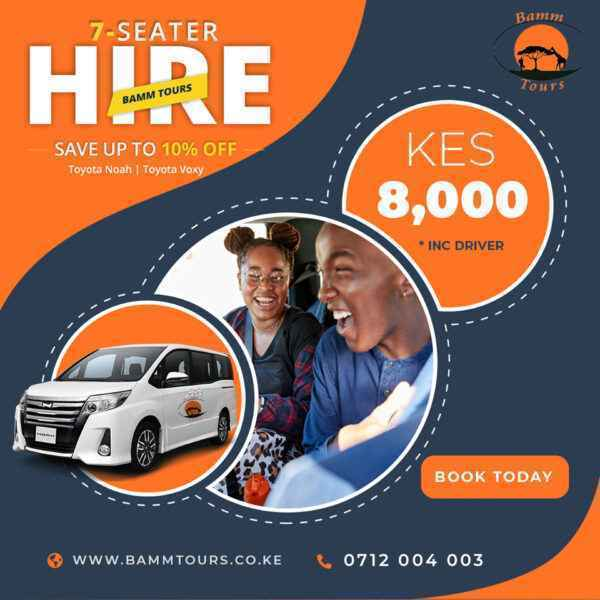 noah voxy hire rent nairobi