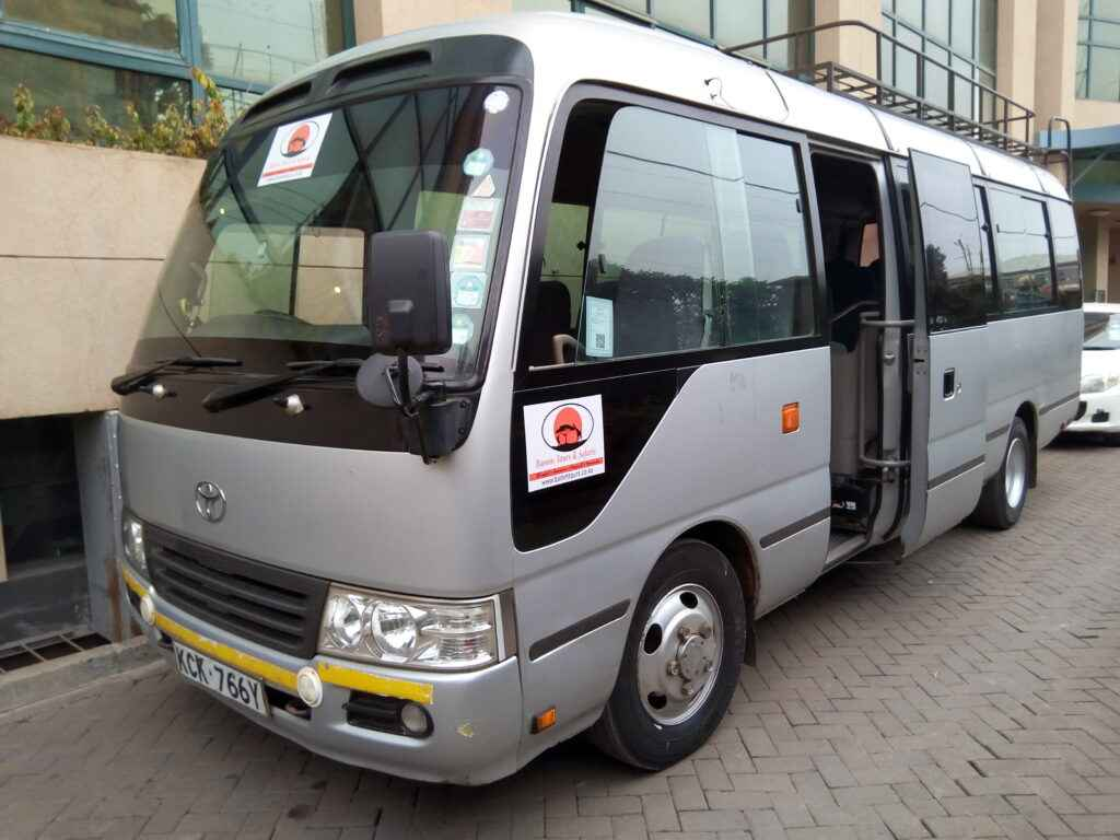 25 seater bus for hire