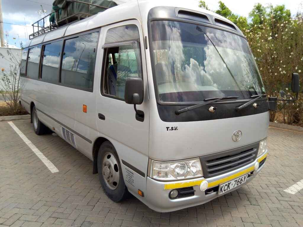 coaster bus for hire