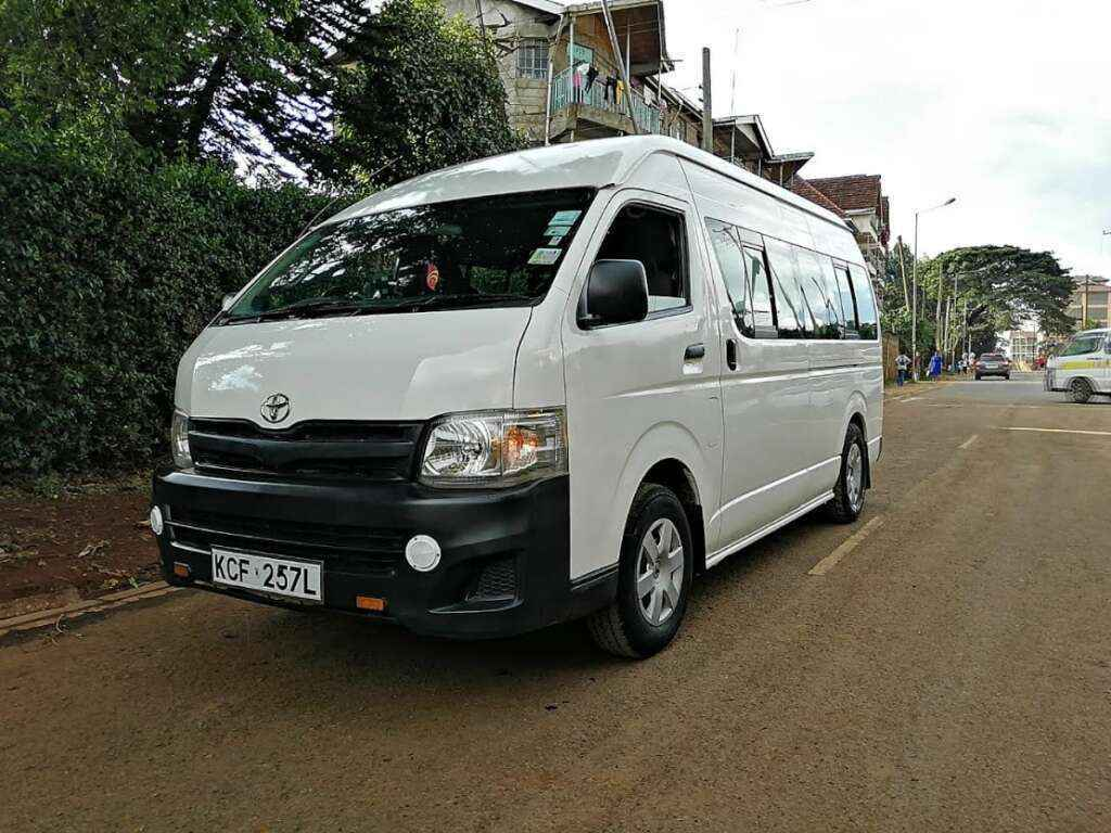 14 seater bus van hire