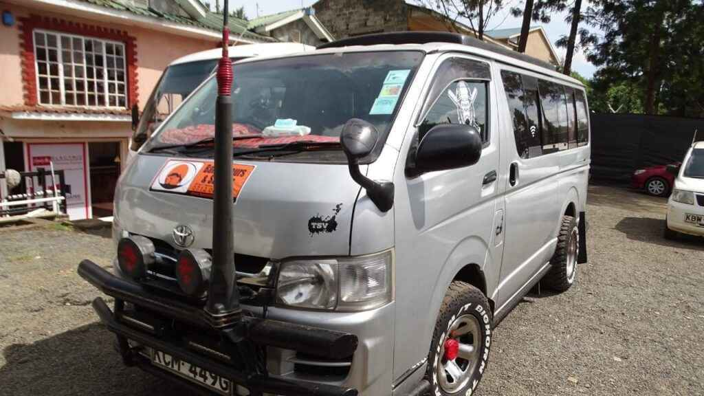 Tour Van for hire Kenya