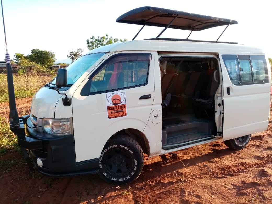 Tour van for hire Kenya
