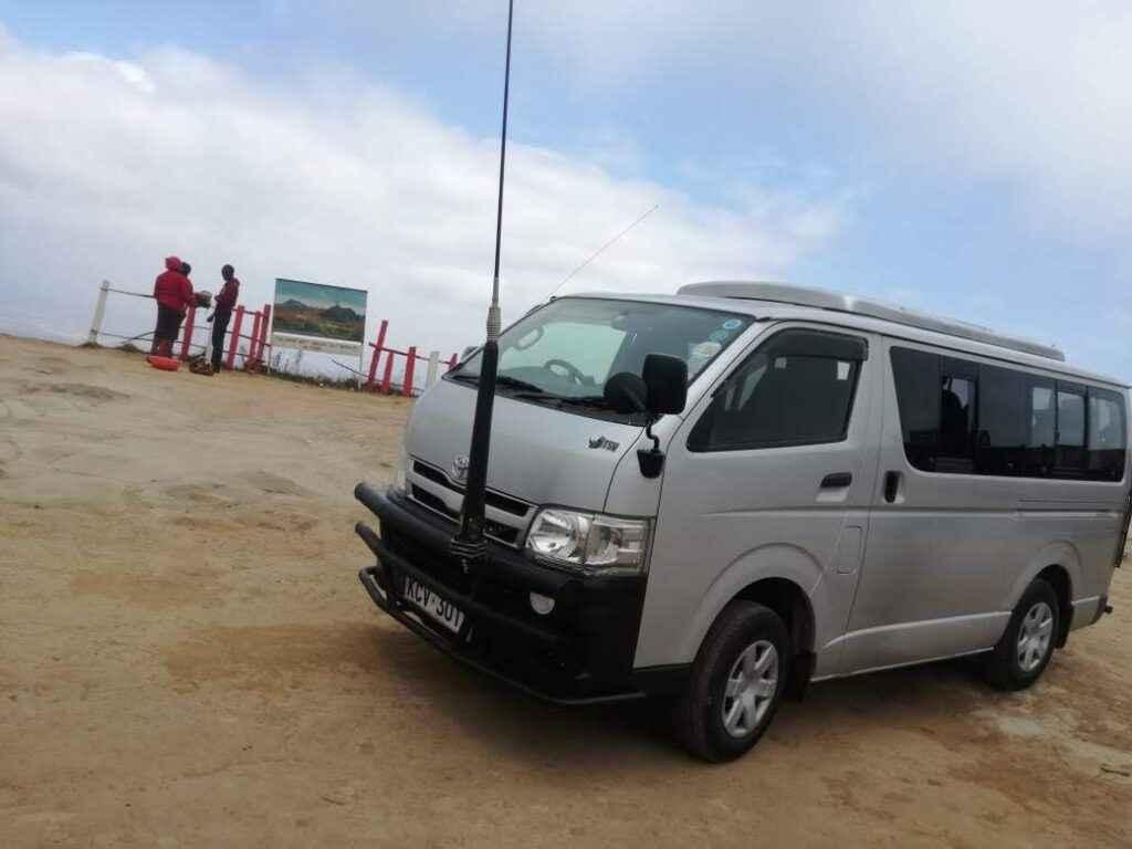 Nairobi Tour Van for hire