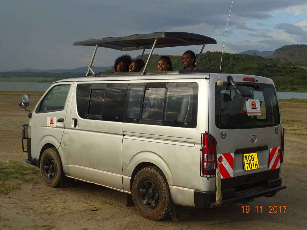 Tour Van for rental nairobi