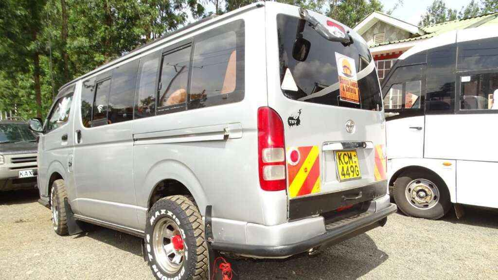 toyota hiace for hire