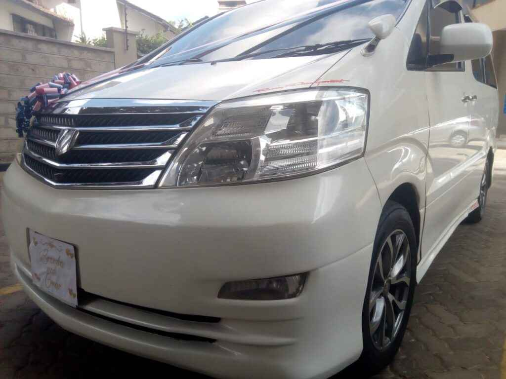 alphard for hire nairobi kenya