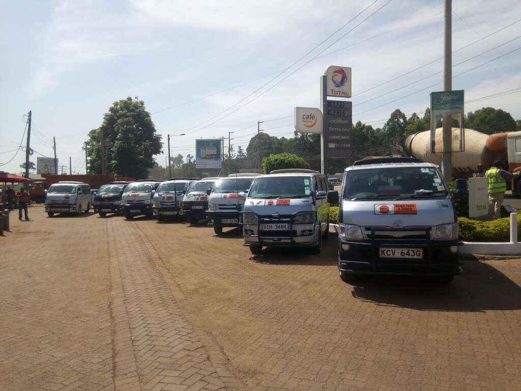 vans hire nairobi