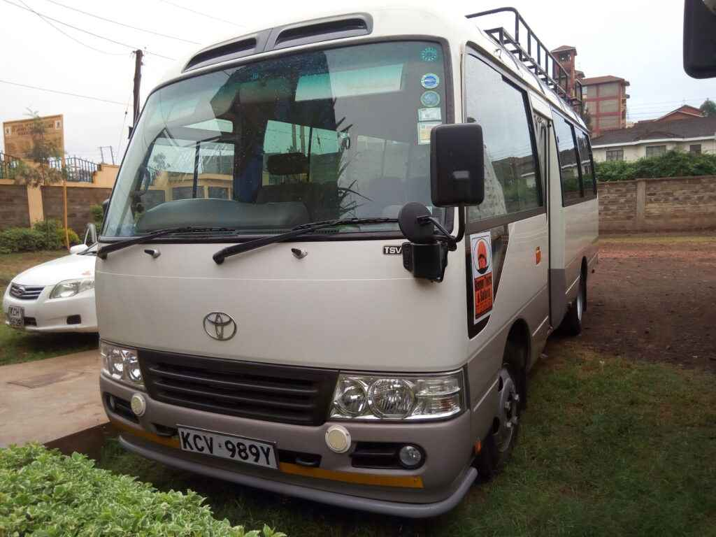 budget 20 seater bus for hire Nairobi