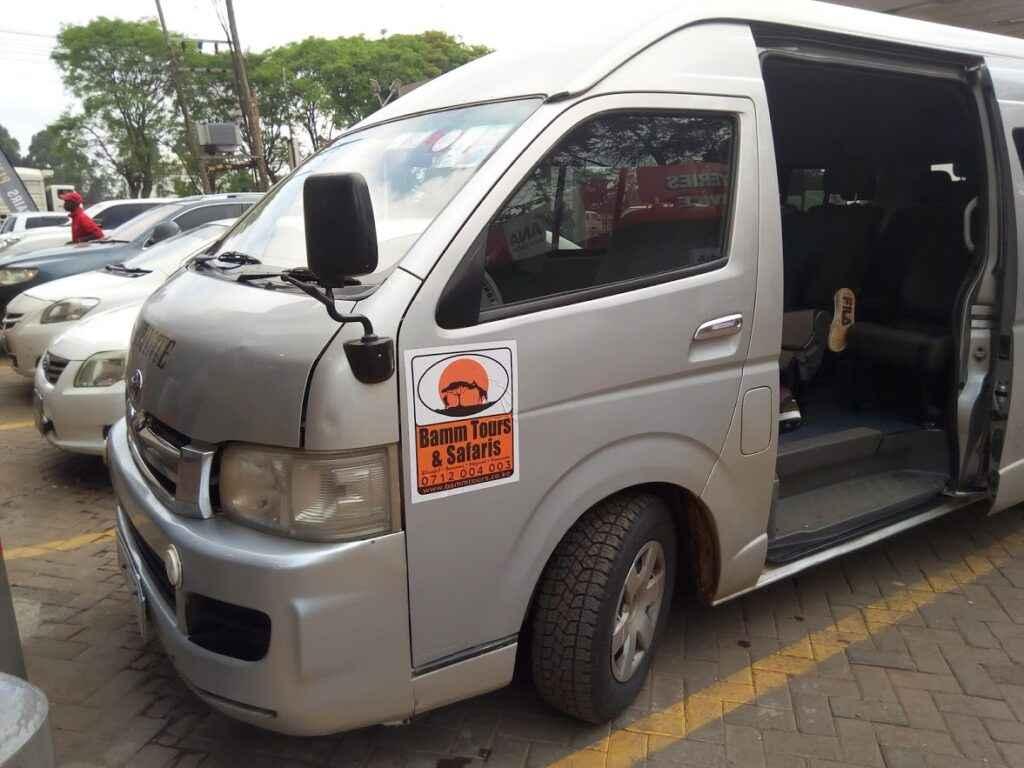 11 seater van hire Nairobi