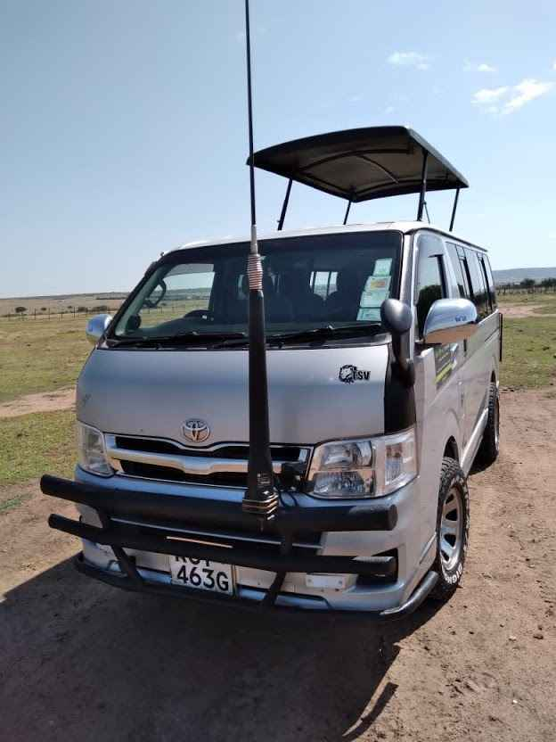 tour van for hire Nairobi