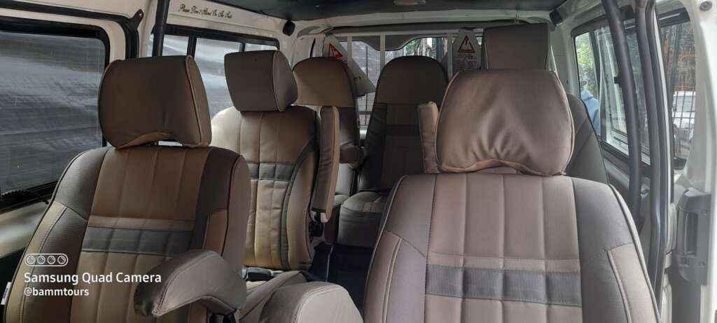 7 seater van hire Nairobi