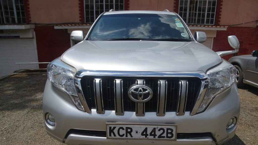 prado for rental nairobi