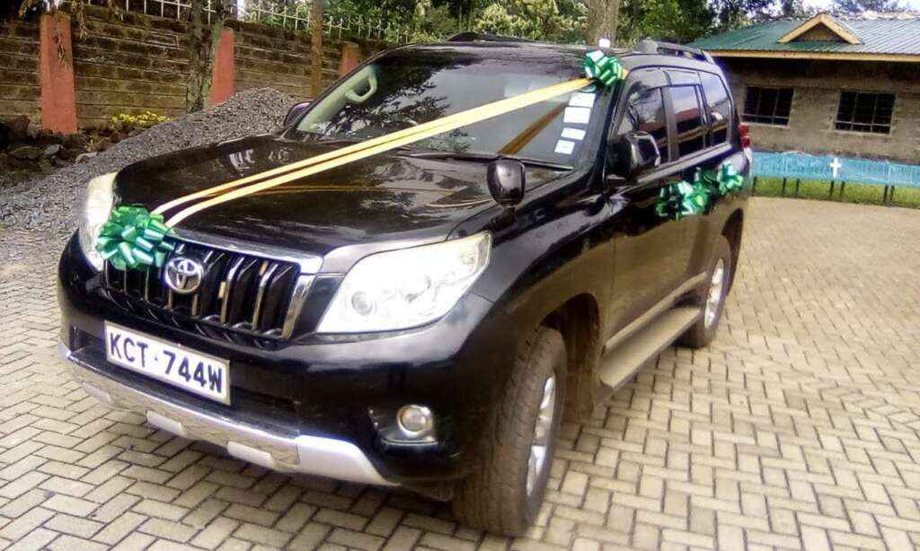 Wedding Cars for hire Nairobi