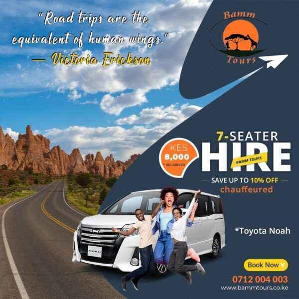 noah voxy hire nairobi