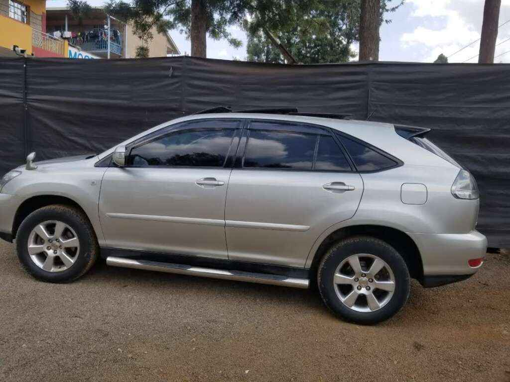 Toyota Harrier for hire Kenya