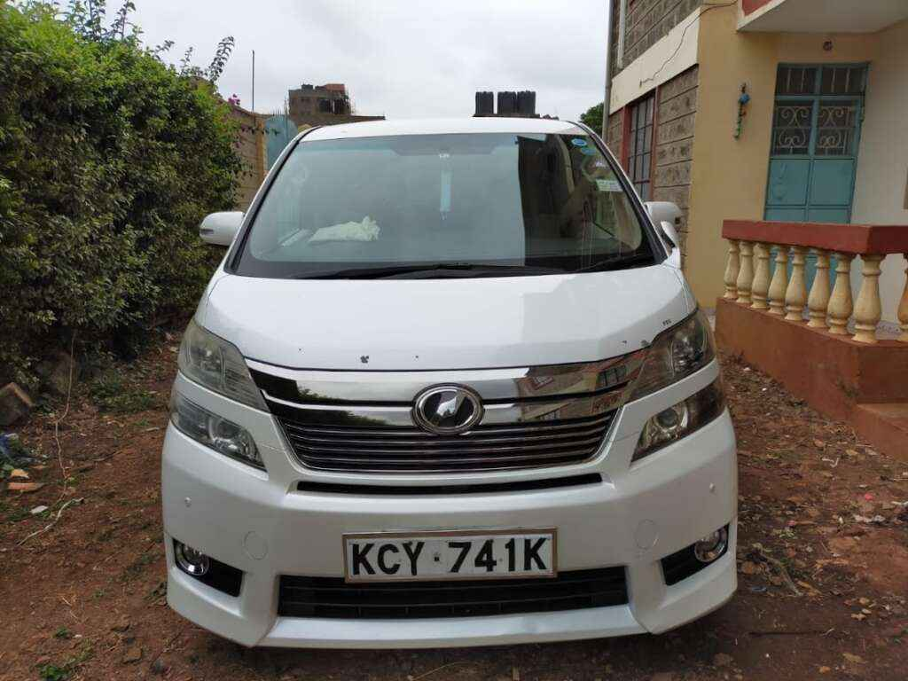 Toyota vellfire hire Nairobi