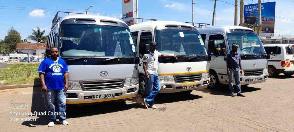 hire bus Nairobi