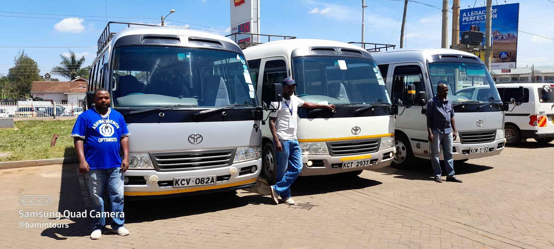 Hire a Bus and Driver in Nairobi