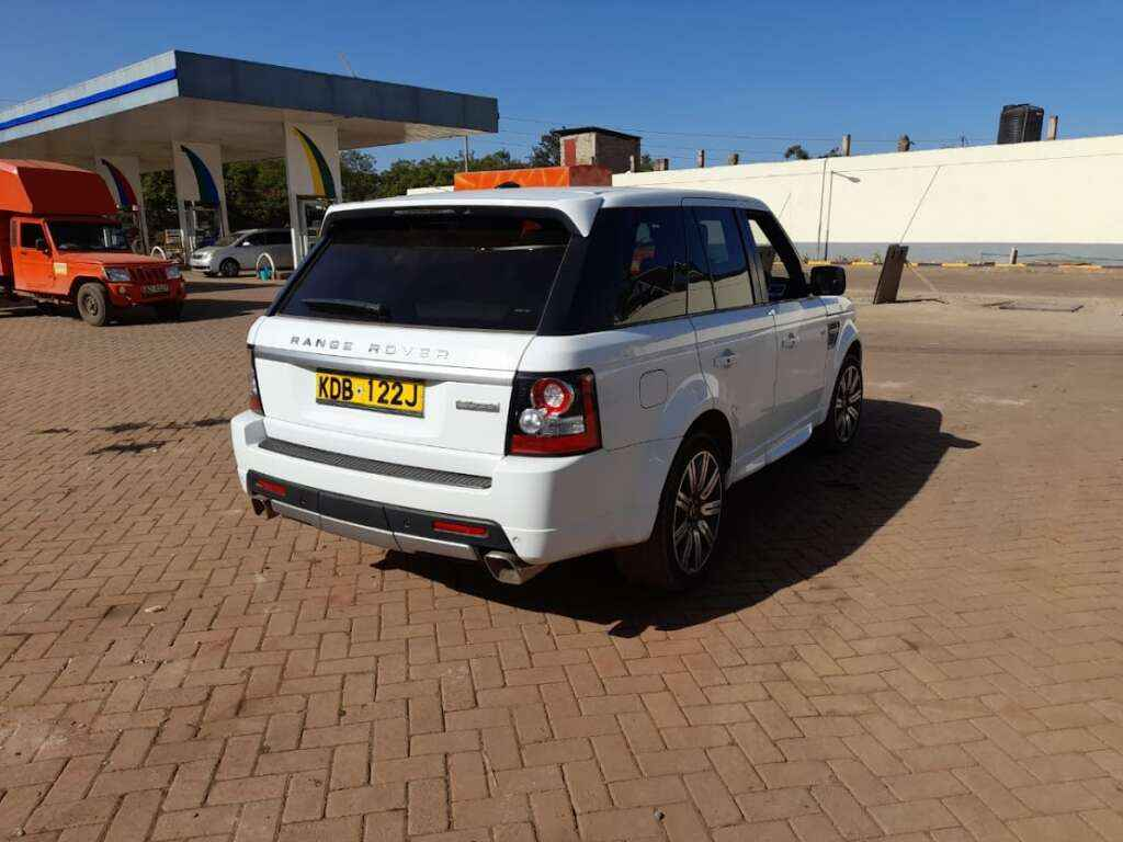 Range Rover Sport For Hire Nairobi