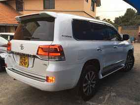 Toyota V8 For Hire Nairobi