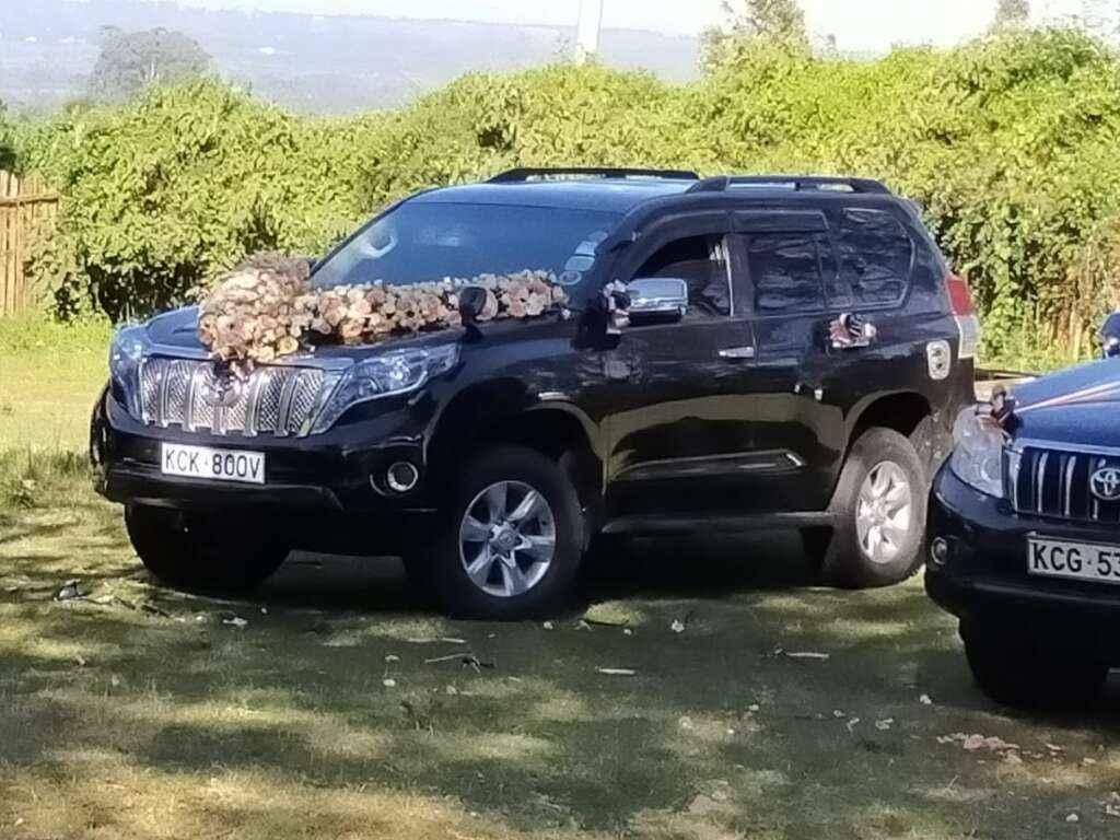 Weddding cars for hire Nairobi