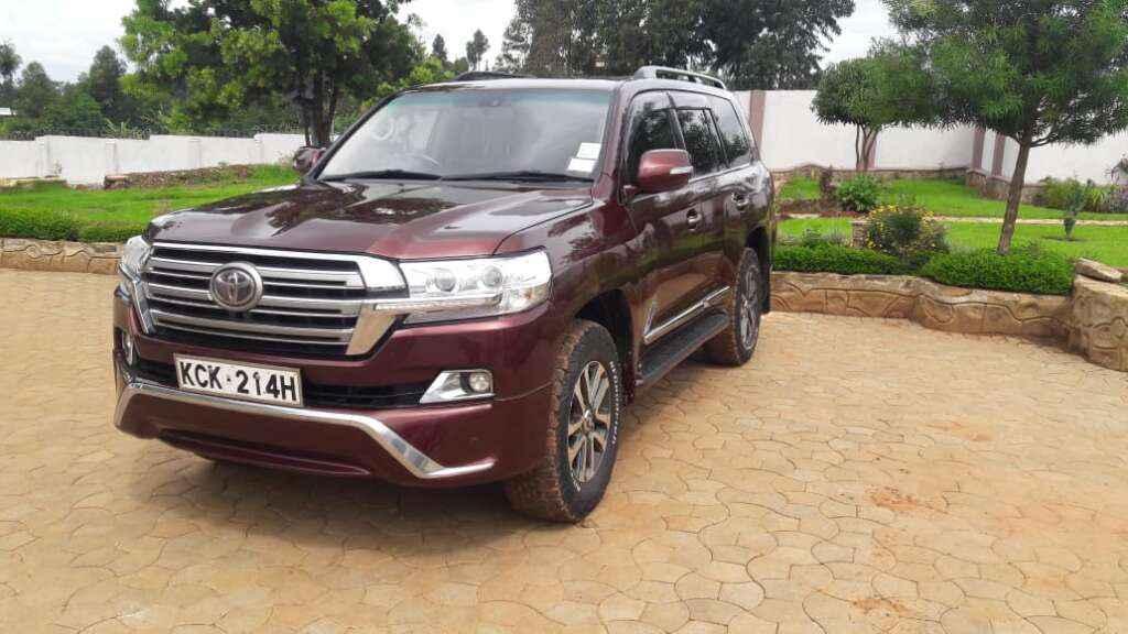 Prestige car hire Kenya.