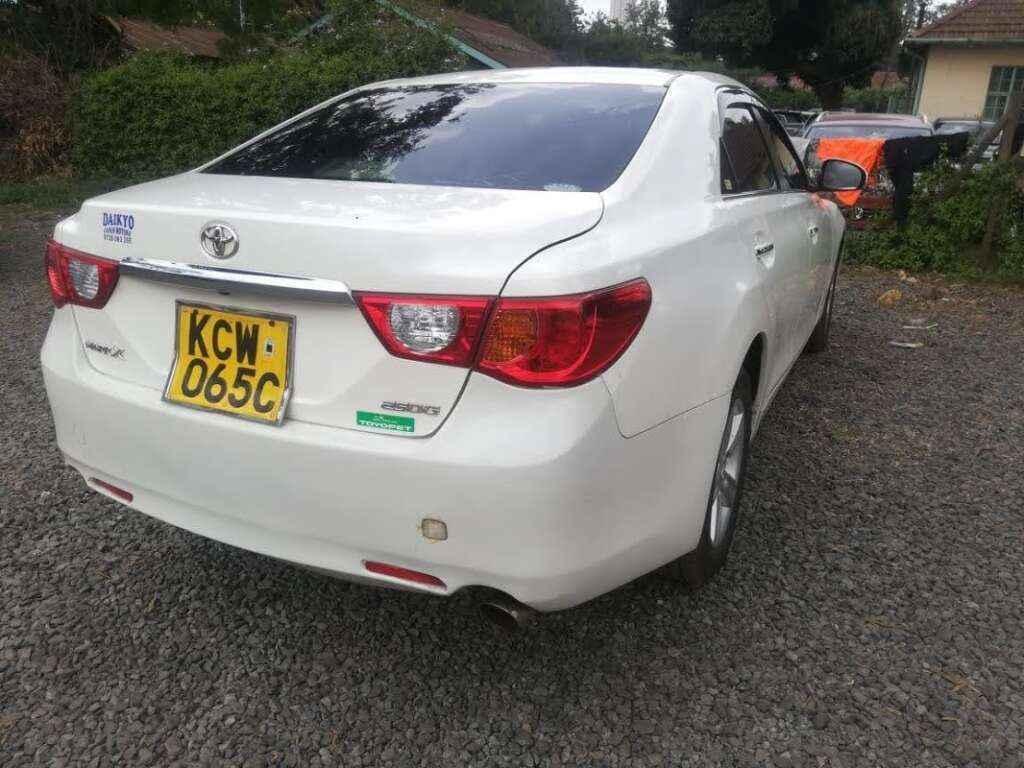 Toyota Mark X For Hire Nairobi