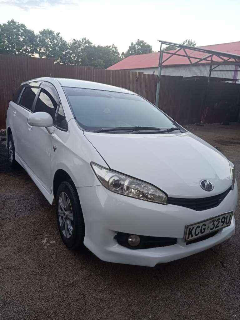 Toyota Wish Car Hire Nairobi