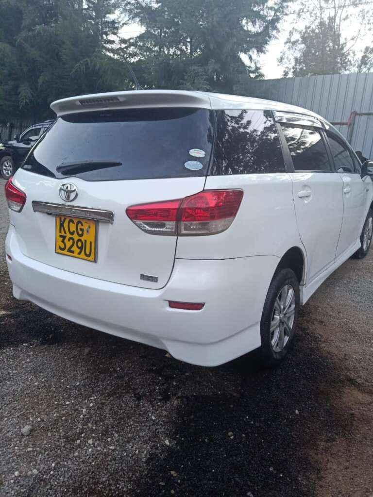 Toyota Wish For Hire Nairobi Kenya