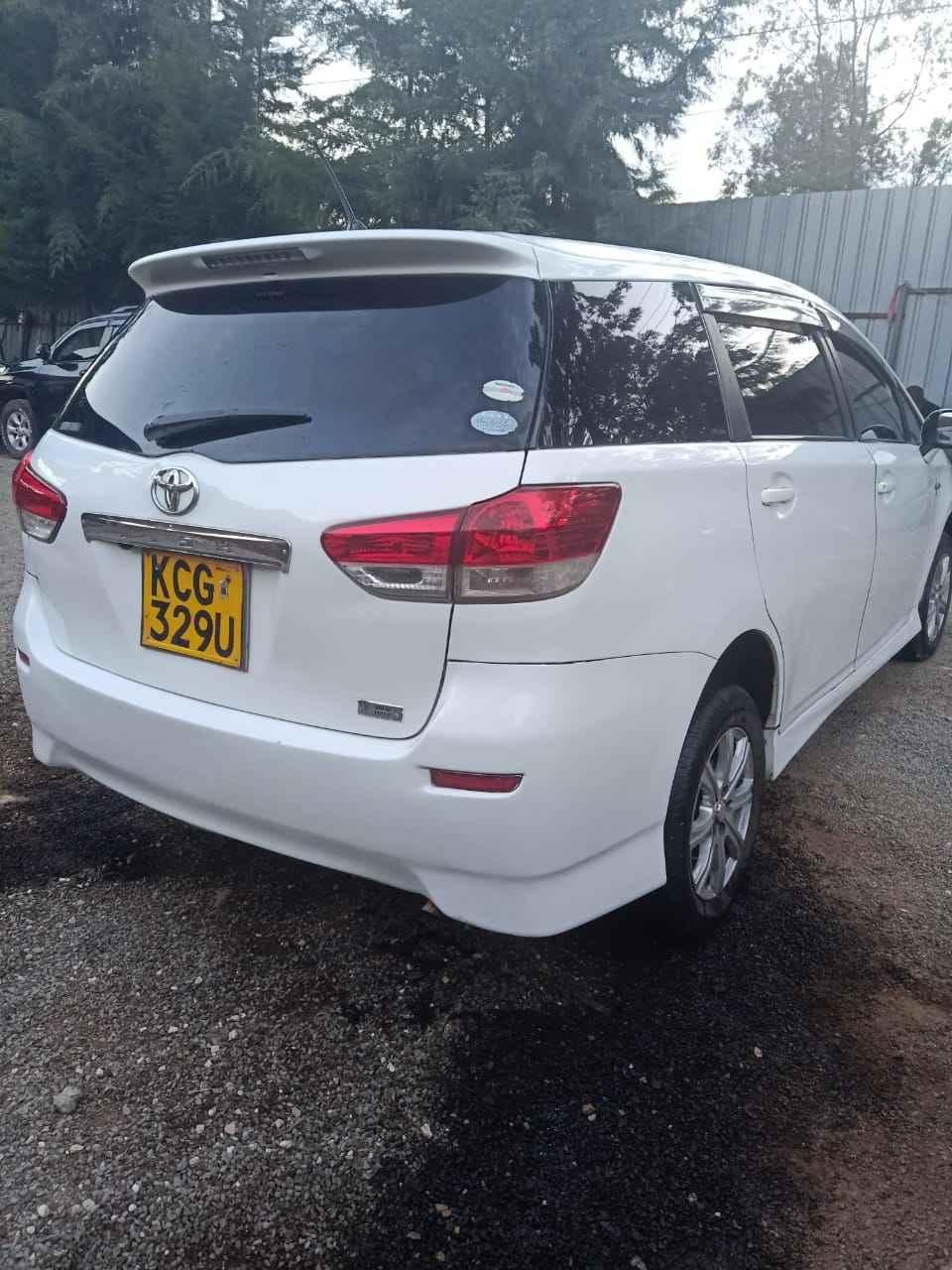 Toyota Wish For Hire Nairobi