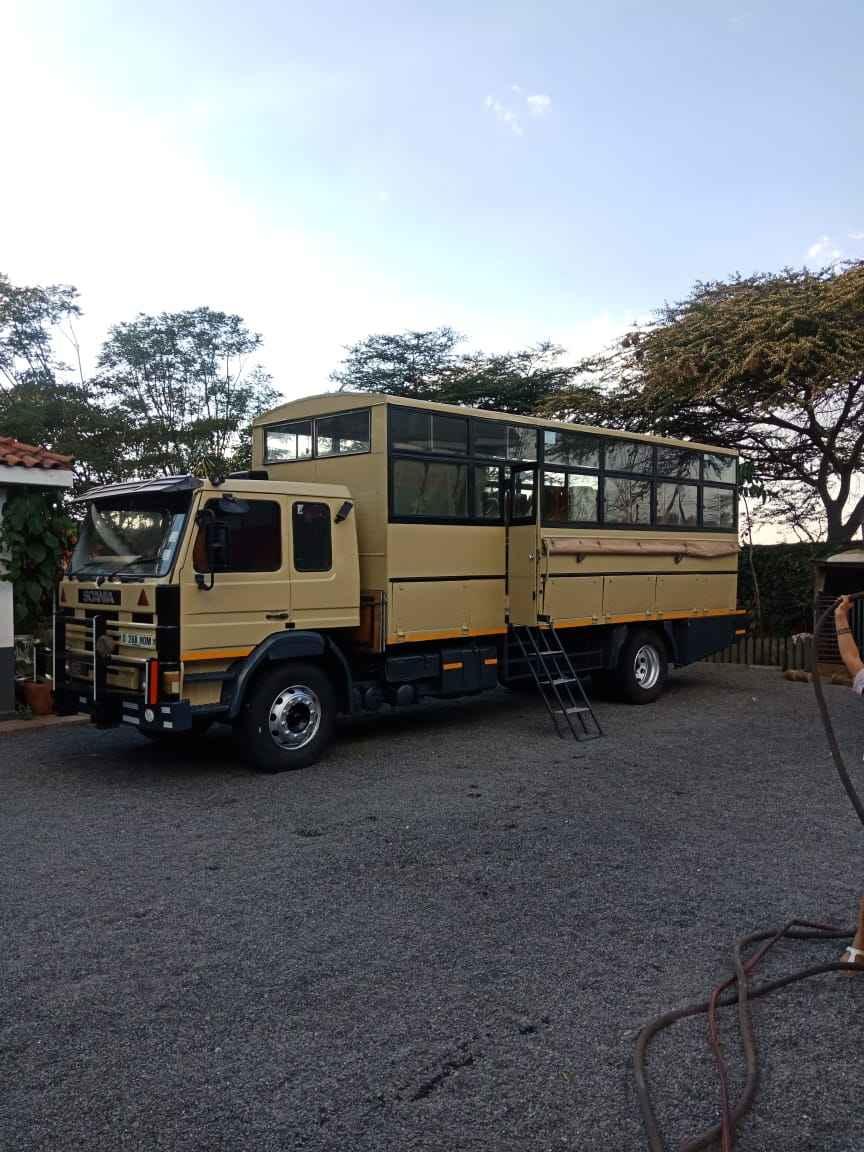 Overland Truck Hire Kenya