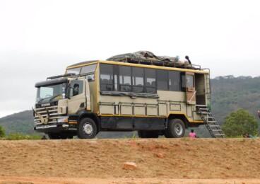 Overland truck for hire Nairobi