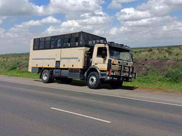 Overland trucks for hire in Kenya
