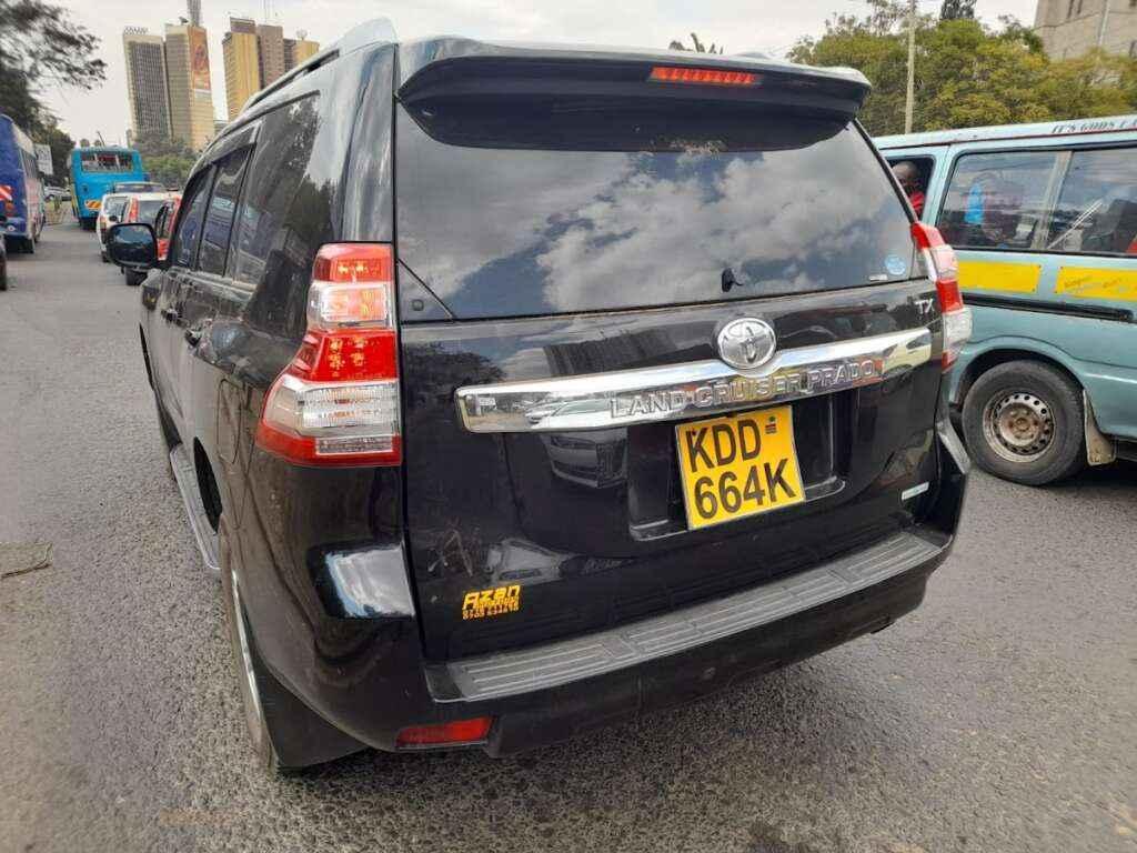 Prado Tx for hire Nairobi