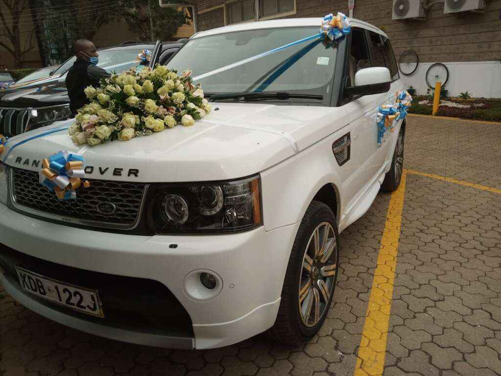 Range Rover for Wedding Hire